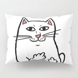 Naughty Cat Pillow Sham