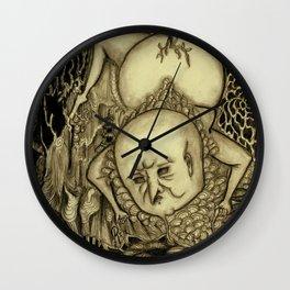 Weaving Wall Clock