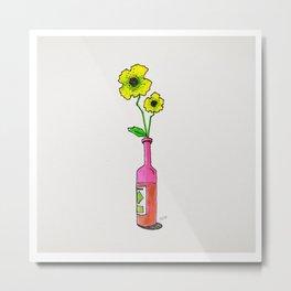 bottleflower Metal Print