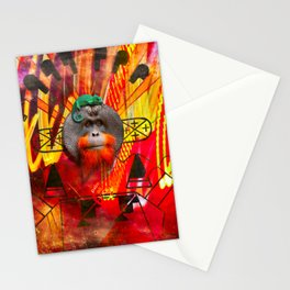 Save orangutans Stationery Cards