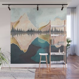 Summer Reflection Wall Mural