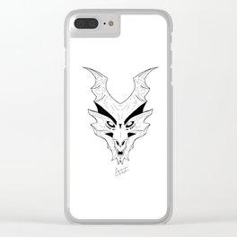 Wyvern Dragon Clear iPhone Case