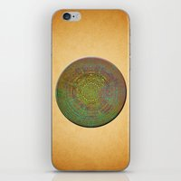 labyrinth iPhone & iPod Skins featuring Labyrinth by Klara Acel