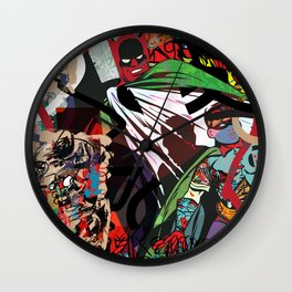 Crime City Wall Clock