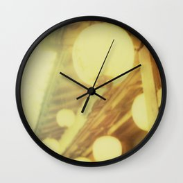 Japanese lights Wall Clock