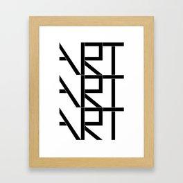 Art Art Art Framed Art Print