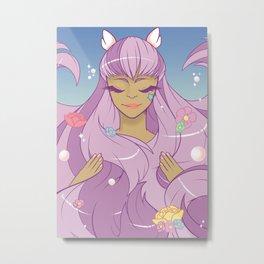 Lavender Lass Metal Print
