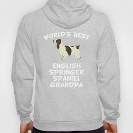 World's Best English Springer Spaniel Grandpa Hoody