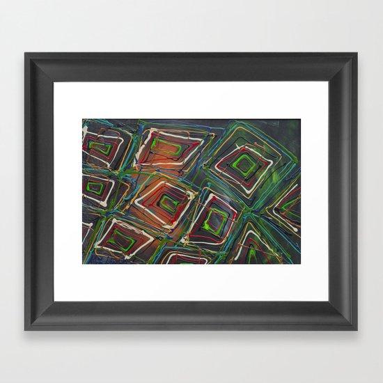 Kaleidescope Framed Art Print