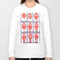 coke Long Sleeve T-shirts featuring Coke Sip by Daniela Rivera