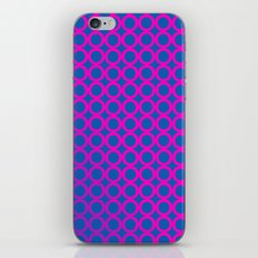 70s Psychedelic Circles iPhone & iPod Skin