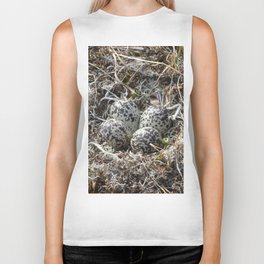 Bird Nest (Pacific Golden Plover) Biker Tank