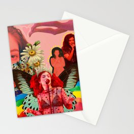 lorde by spunkynelson Stationery Cards