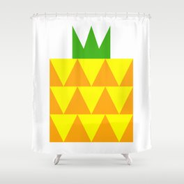 Ong Lai / Pineapple Shower Curtain