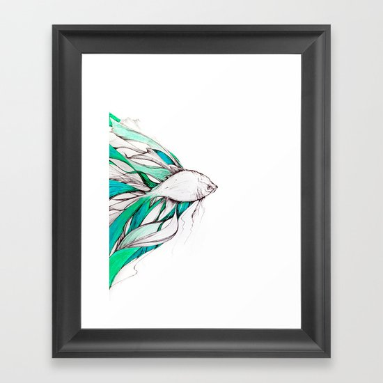 You Wouldn't Want to See Me Angry... Framed Art Print