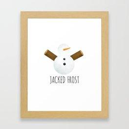 Jacked Frost Framed Art Print
