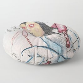 Memory, Contrivance, and Luck! Floor Pillow