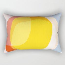 Tropical Sunny Day (Abstract) Rectangular Pillow