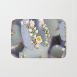 Yellow Desert Blooms Bath Mat
