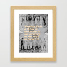 Montaigne 3 Framed Art Print