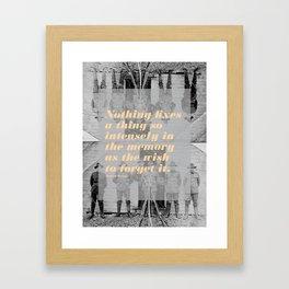 Montaigne 3 Framed Art Print