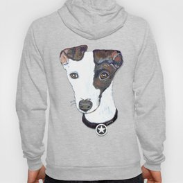 Greyhound Portrait Hoody