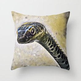 Who is in there? Throw Pillow