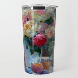 Garden Roses Travel Mug