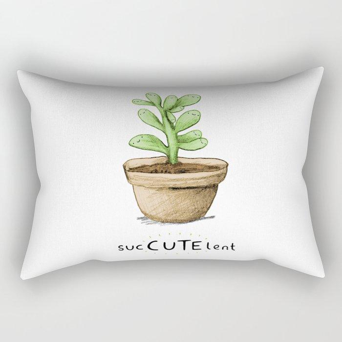SucCUTElent Rectangular Pillow