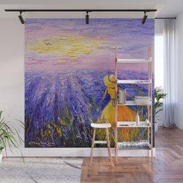 Lavender dreams  Wall Mural