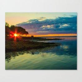 """Electric Dawn"" Canvas Print"