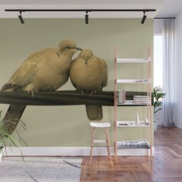 loving doves Wall Mural