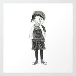 Jughead Jones - Riverdale Art Print