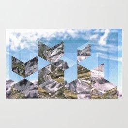 Mountain Fragments Rug