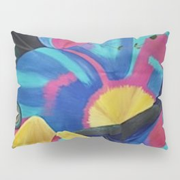 Butterfly Fish Birds Pillow Sham