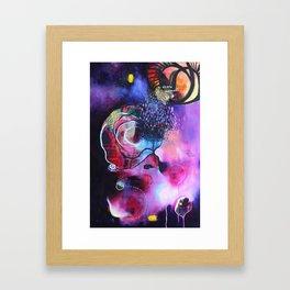 Journey into Your Inner Cosmos Framed Art Print