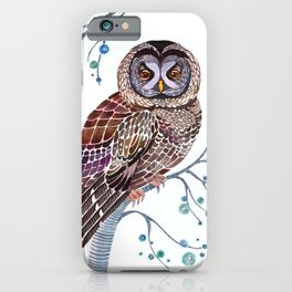 lacy owl iPhone Case