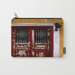 Rustic Grecian Doors  Carry-All Pouch