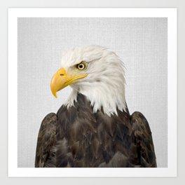 Eagle - Colorful Art Print