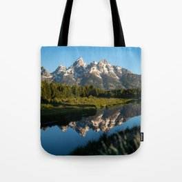 Grand Teton Sunrise Tote Bag