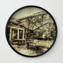 Covent Garden London Vintage Wall Clock