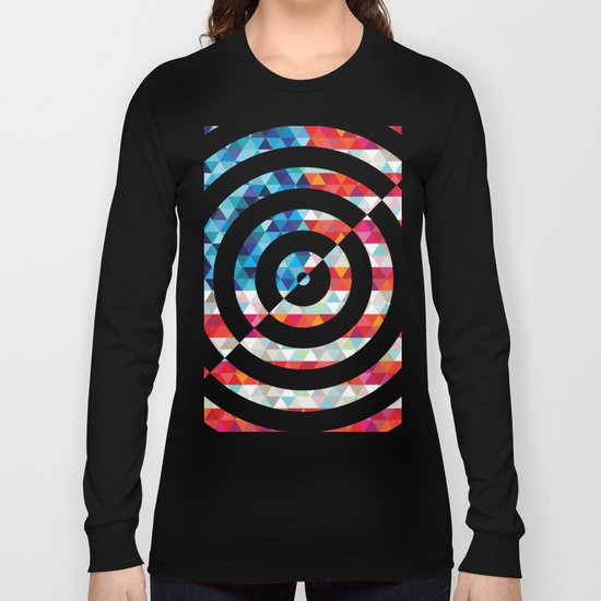 Abstract America Long Sleeve T-shirt