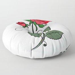 Bloom in Adversity Floor Pillow