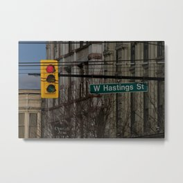 West Hastings Vancouver Metal Print