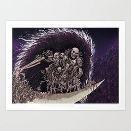Gravelord Nito Art Print