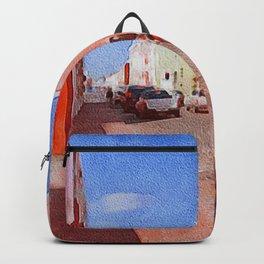 Valladolid Mexico Urban Peddler Backpack