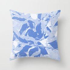 BlueMING blue Throw Pillow