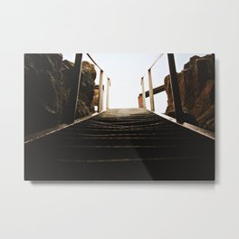 Open your eyes and look north Metal Print