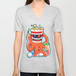 Hurricane Popcorn Kaiju Food Monster Unisex V-Neck