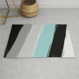 Cold winter , abstract Rug